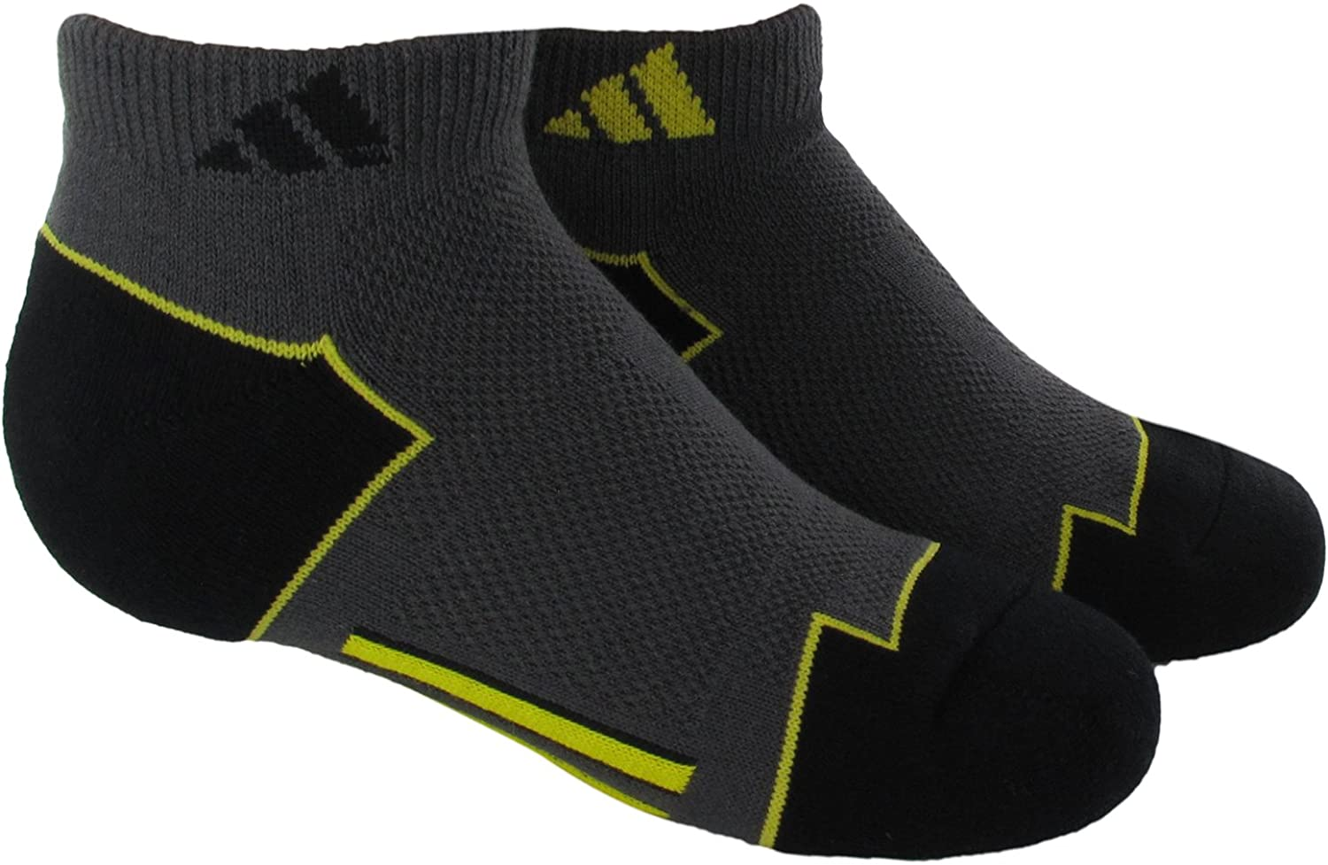 adidas Boy's Youth Climacool Low Cut Sock (Pack of 2)