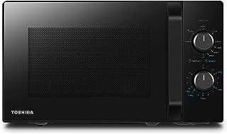 Toshiba MW2-MG20PF (BK) / GE Four à Micro-ondes avec Fonction Grill Croustillant et Combi, 5 Niveaux de Puissance, Puissan...
