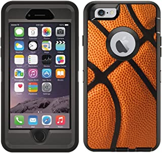 Teleskins Protective Designer Vinyl Skin Decals/Stickers for Otterbox Defender iPhone 6 Plus/iPhone 6S Plus Case -Basketball Design Patterns - only Skins and not Case