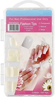 SoSh Artificial Nails Set Acrylic Face Nails Set Of 100 Pcs Artificial Nails Reusable