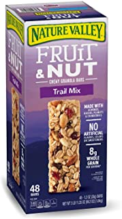 Nature Valley Fruit & Nut Chewy Trail Mix Granola Bars, 11.25 Ounce
