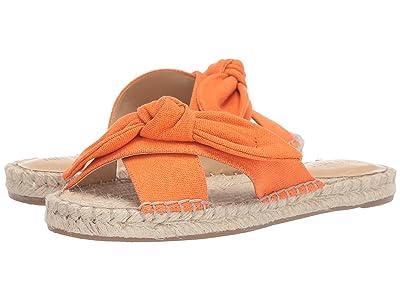 Nine West Brielle Espadrille Flat Sandal (Orange) Women