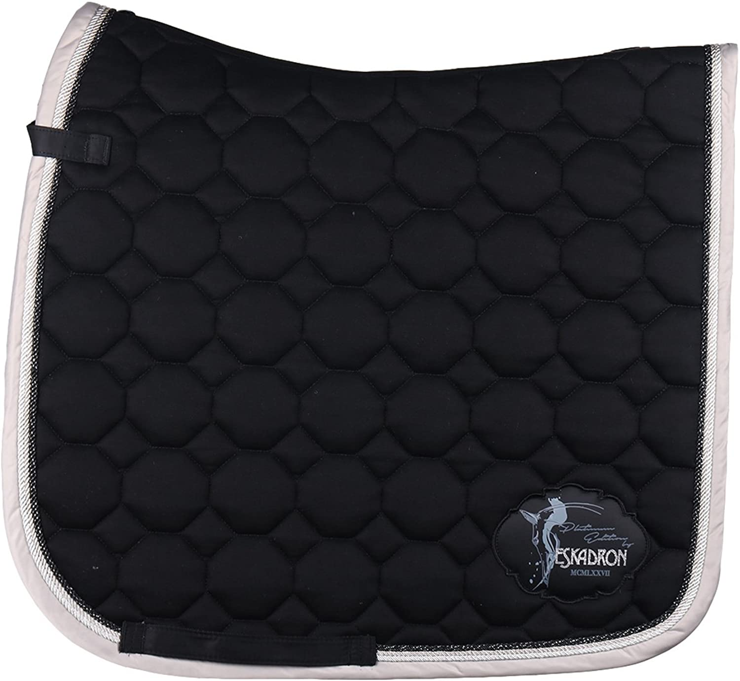 Eskadron Cotton Emblem Saddle Pad General Purpose Black