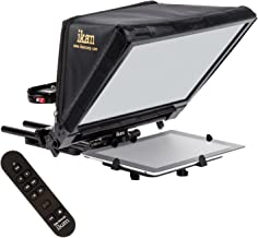 Ikan 22-inch Elite Generation 2 Universal Large Tablet Teleprompter for Surface Pro & iPad Pro, Beam Splitter 70/30 Glass w/Remote (PT-ELITE-V2-RC) - Black