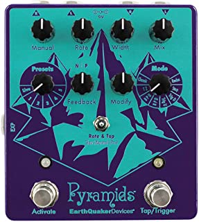 EarthQuaker Devices Pyramids Stereo Flanging Device Guitar Effects Pedal