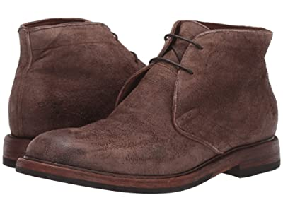 Frye Murray Chukka (Dark Brown Suede) Men