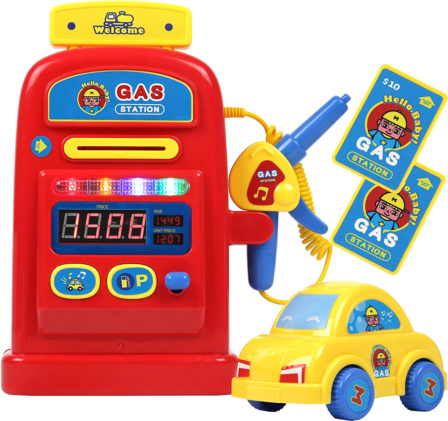 TeganPlay Gas Station Popular products online shopping Playset Pretend Pump Play Toy Boys for