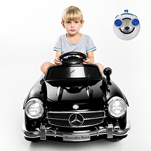 lowest Giantex Car for Kids Mercedes Benz R/C 300SL, Ride-On Vehicles online with MP3 Music Function, Baby AMG Electric Battery Charge, Child Drive wholesale Toys Kids Cars w/ Remote Control (Black) outlet online sale