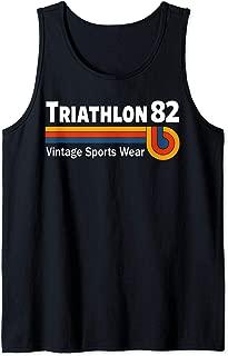 Retro Vintage Triathlon & Triathlete Clothing - Triathlon Tank Top