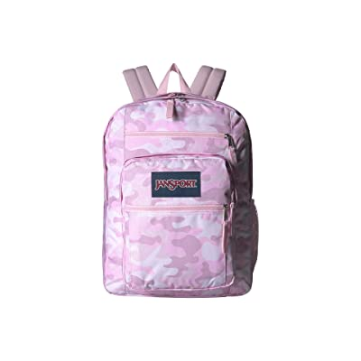 JanSport Big Student (Cotton Candy Camo Print) Backpack Bags