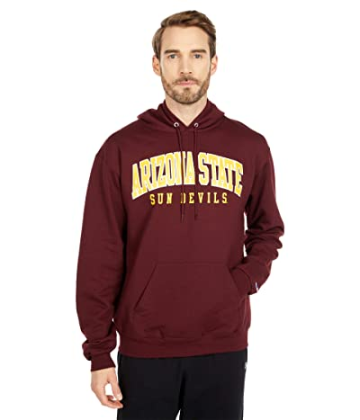 Champion College Arizona State Sun Devils Eco(r) Powerblend(r) Hoodie (Maroon 3) Men
