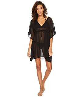 Solid Silky Butterfly Swim Cover-Up
