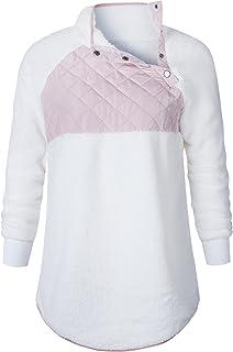 7TECH Fleece Collar Jacket Sweater, White
