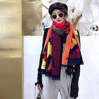 Schal Winter Frauen Schal Kaschmir Warme Weibliche Poncho Schals Dicke Decke Schals Und Wraps