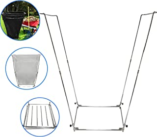 portable hammock with frame stand and carrying bag