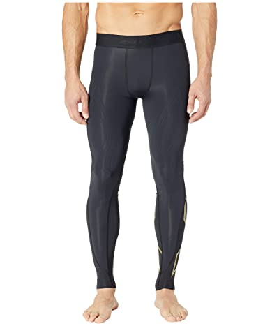 2XU MCS Cross Training Compression Tights (Black/Gold) Men