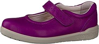 """Ricosta pour fille """"Lelia"""" Mary Jane Crochet et passant à chaussures, Violett, style 86.26000.360"""