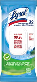 LYSOL® DISINFECTING WIPES Flatpack - Spring Waterfall® 30 Count