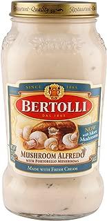 Bertolli Sauce Alfredo Sauce Mushroom W/Portobello Mushrooms, 15 oz