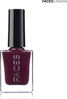 FACESCANADA Nail Enamel Winter Collection, Magenta, 9 ml