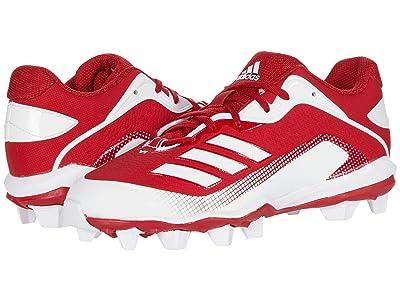 adidas Kids Baseball Icon 6 MD Baseball (Toddler/Little Kid/Big Kid) (Team Power Red/Footwear White/Footwear White) Kids Shoes