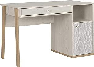 GAMI Alika Desk, Whitewashed Chestnut, H77 x W123 x D55 cm, 1G71150