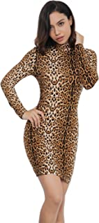 Amazon.com  Animal Print - Dresses   Clothing  Clothing a6fd812d8