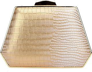 0dc0edf7c4 Fawziya Snake Pattern Handbag for Women Evening Bags Box Clutch Purse