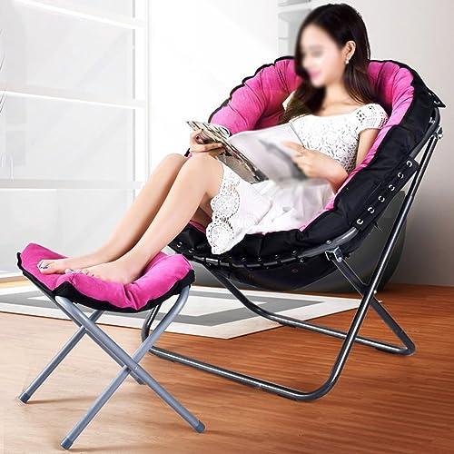 AJZXHESimple et créatif Chaises Longues Pliantes, canapés Portables, chaises Longues, chaises Pliantes de Pause déjeuner de Bureau,