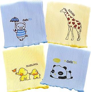 【 柔らかい肌触り 】iikuru 赤ちゃん 腹巻 綿 かわいい ベビー 腹巻き コットン 子供 新生児 はらまき 4枚セット y301