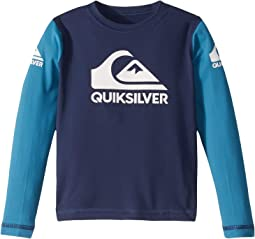 Heats On Long Sleeve Surf Shirt (Toddler/Little Kids)