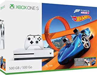 Xbox One S 500GB Console - Forza Horizon 3 Hot Wheels Bundle [Discontinued]