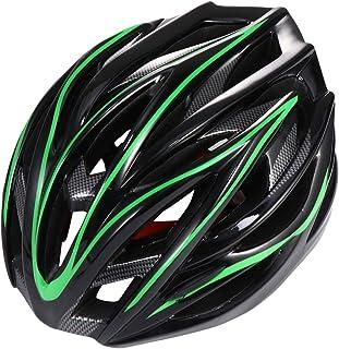 CLISPEED Capacete Esportivo Adulto Capacete de Bicicleta Capacete de Ciclismo de Estrada Capacete de Segurança Cabeça Guar...