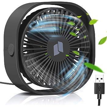 KLIM™ Breeze Ventilateur de Bureau USB Haute Performance