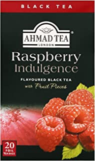 "English Teas, ""Raspberry Indulgence Black Tea"" - Tagged and Aluminium Foil En..."