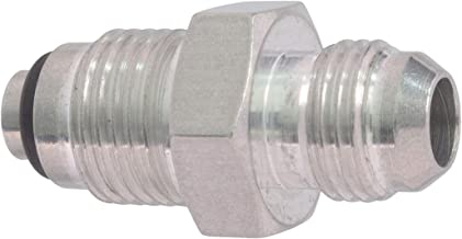 ICT Billet 6an Male Flare to M16-1.5 O-ring Power Steering Adapter Fitting Thread Connector Fluid Designed & Manufactured in the USA Bare Aluminum F06ANPSM1615