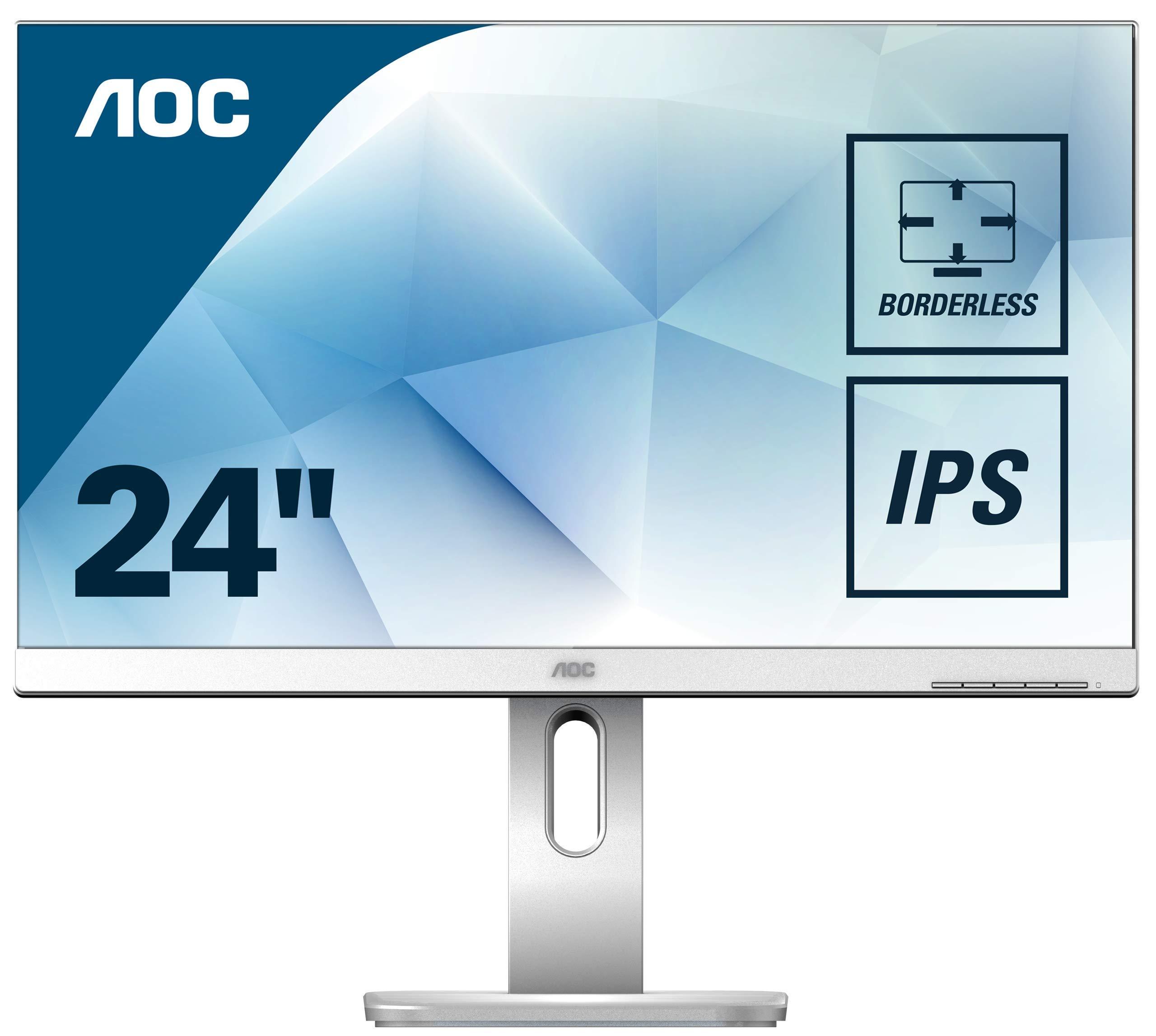 Monitor AOC 24X24P1/GR 16:10 DVI+HDMI+DP+USB IPS LI.GR.: Amazon.es: Informática