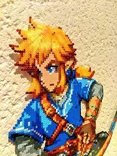 Sprite Link from The legend of Zelda : Breath of the wild - Hama beads - pixel art - perler beads