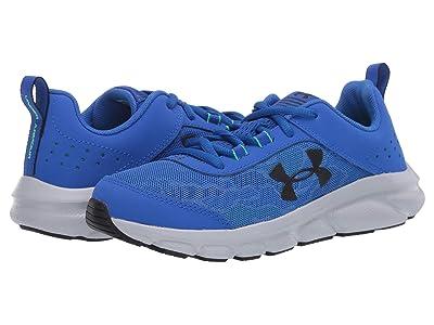 Under Armour Kids UA Assert 8 (Big Kid) (Versa Blue/Vapor Green/Black) Boys Shoes