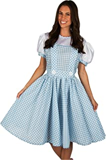 Adult Dorothy Wizard of Oz Dress Costume