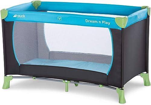 Hauck Lit Parapluie Dream N Play / pour Bébés et Enfants de la Naissance jusqu'à 15 kg / 120 x 60 cm / Léger et Stabl...