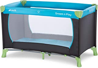 Hauck Lit Parapluie Dream N Play / pour Bébés et Enfants de la Naissance jusqu'à 15 kg / 120 x 60 cm / Léger et Stable / P...