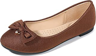 Meeshine Women Flats Pointed Toe Comfort Slip On Loafers Causal Walking Ballet Shoes