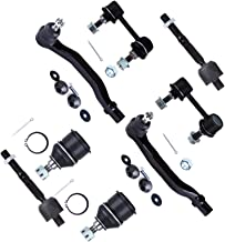 Scitoo 4PC Set Inner Outer Tie Rod Ends fit 03-07 Honda Accord 2.4L