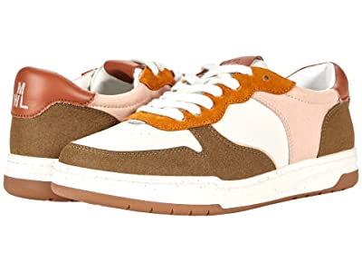 Madewell Court Sneakers in Nubuck and Recycled Leather