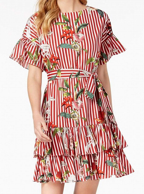 Julia Jordan Womens Floral Mini Casual Dress