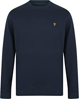 Cheadle Crew Neck Jumper in Yale Blue