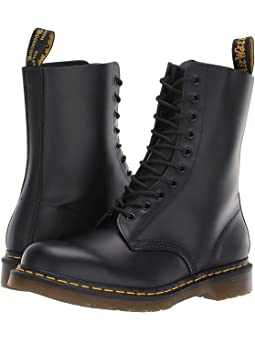 Black Lace Up Boots + FREE SHIPPING