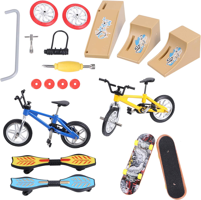 BESPORTBLE 13 Sale special price Pcs Skate Park Kit Mini Finger Toys Ska Set Sale special price