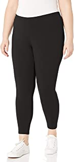 JUST MY SIZE Women's Plus-Size Stretch Jersey Legging